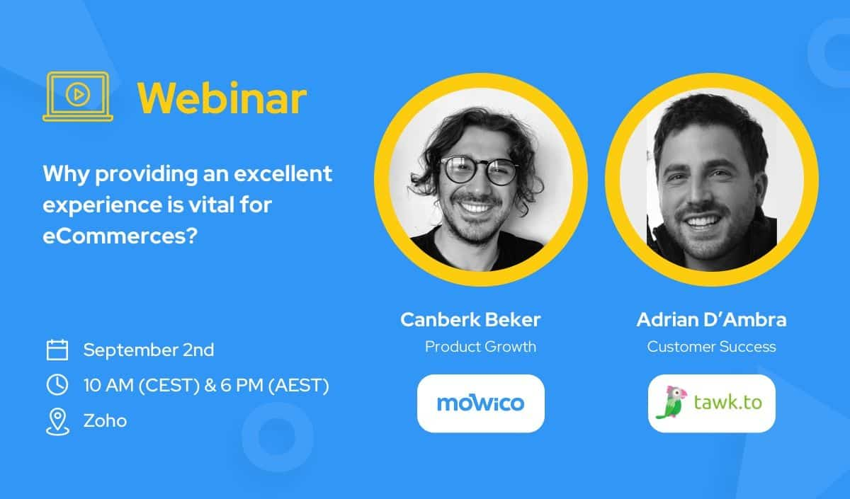 Driving Sales by Delivering a Great Customer Experience, Webinar: Driving Sales by Delivering a Great Customer Experience, Mowico